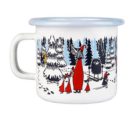 Moomin кружка Зимний лес, 0,25 л.