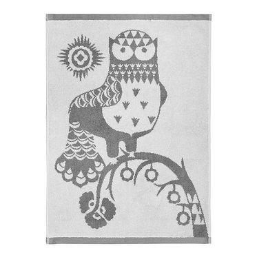 Полотенце для рук Taika серое 50 x 70 см