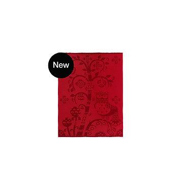 Скатерть 130x180 см красная Сезонный продукт