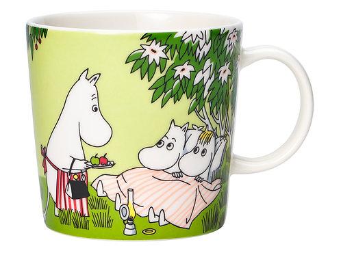 Коллекционная Moomin кружка Летний отдых, 0,3 л.