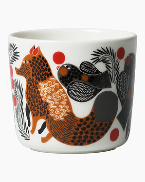 Oiva/ Лиса и ягоды, кофейная чашка 0,2л. / 2шт, без ручки