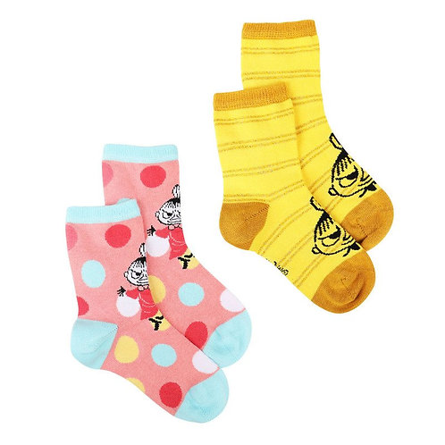 Moomin носки Малышка Мю, цветные, 2 пары