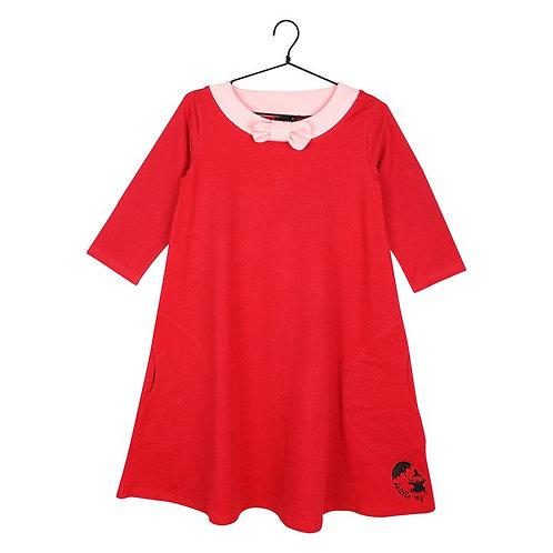 Moomin платье Малышка Мю, красное