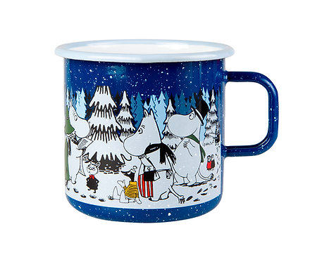 "Муми-кружка ЗИМА 2017, ""Moomin Winter forest"" 0,8 л.!"