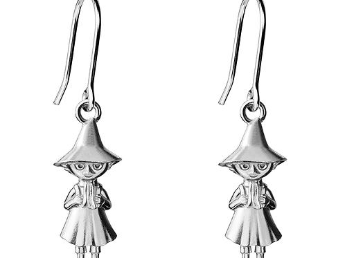 Серьги Снусмумрик, 9 x 22 мм. Серебро