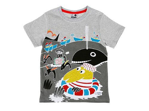 Муми футболка. Водные приключения.