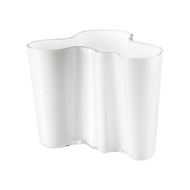 Ваза Коллекция Alvar Aalto160мм, молочный белый