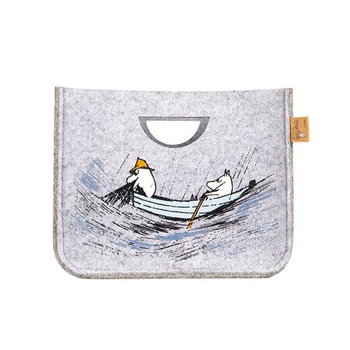 Muurla Moomin Originals Корзина для хранения«Ушёл на рыбалку» S