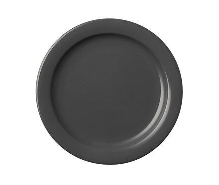 Тарелка гранитного цвета, 26 см.