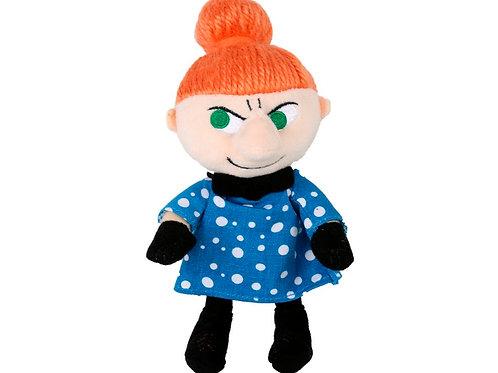 ПлюшеваяМалышка Мю 19 см., в голубом платье