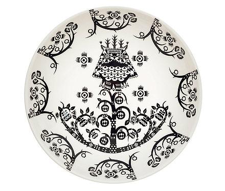 Тарелка Taika Anniversary, 20 см. Глубокая, Черно-Белая