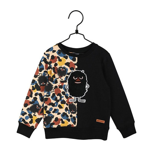 Moomin Свитшот Wild, черный