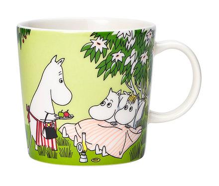 Moomin кружка Летний отдых, 0,3 л.