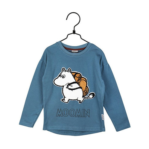 Moomin Рубашка Муми-тролль синяя