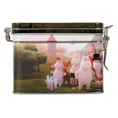 Moomin банка для хранения чая Муми-Дол