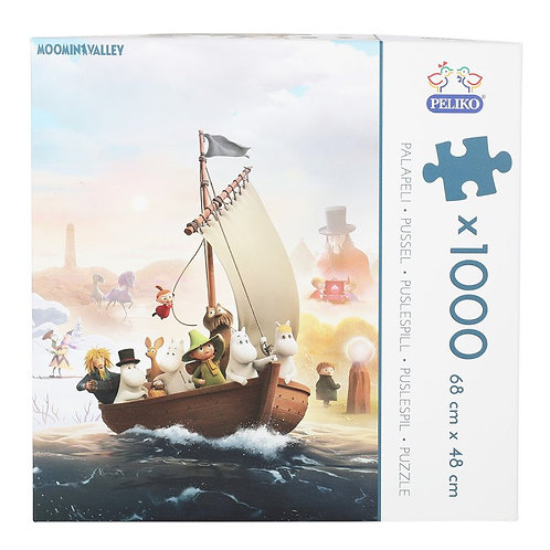 Moomin Пазл Муми-Дол1000 деталей