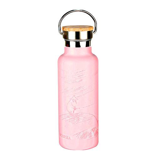 Moomin термос Наше море 500 мл розовый.