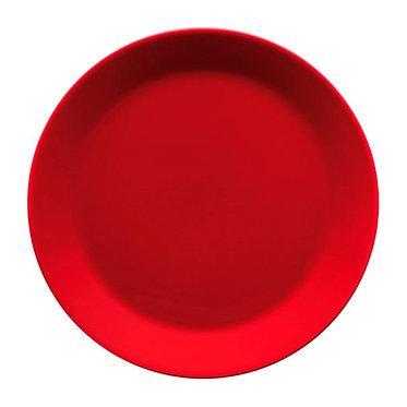 Teema  Тарелка 21 см красная