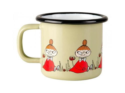 Moomin Кружка эмалированная Moomin Friends, 150 мл, Малышка Мю
