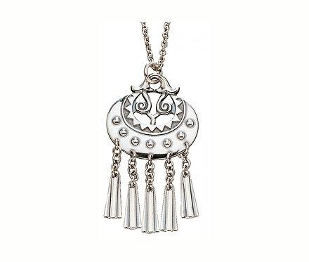 Кулон Богиня Луны, Серебро 925 пробы