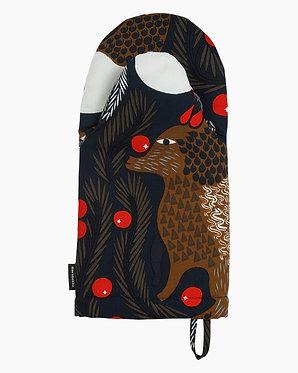 Кухонная рукавица Лиса и ягоды