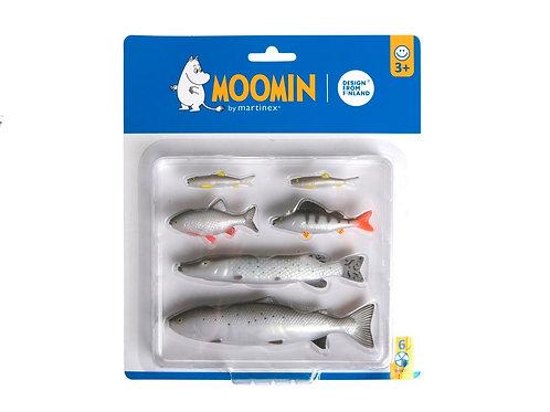 Дополнительный набор рыб, для рыбной ловли Снусмумрика