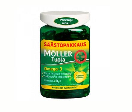 НОВИНКА ! Möller Tupla двойного действия.С улучшеным вкусом и запахом 160капс.