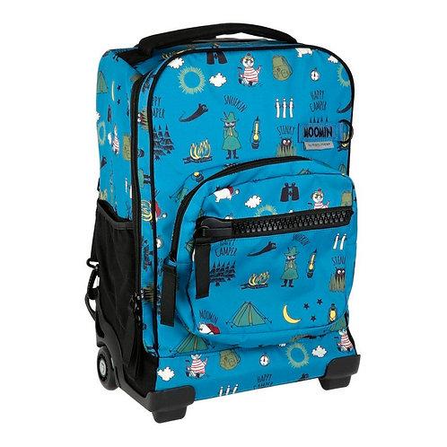 Moomin чемодан синий