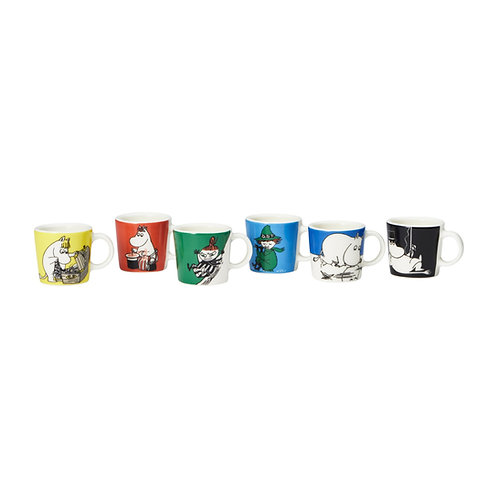 Moomin mini кружки набор 6 шт. часть 1