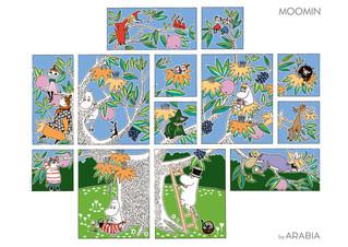 Moomin Декор: Дерево.