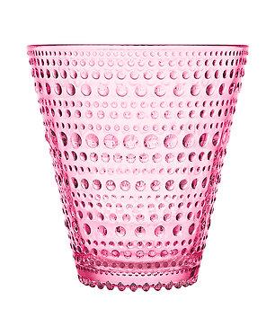 Kastehelmi Стакан 300 мл розовый 2 шт.