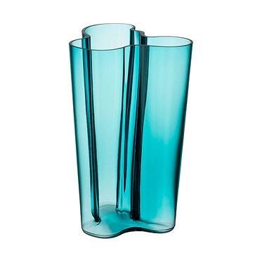 Ваза Коллекция Alvar Aalto251 мм, морской синий.