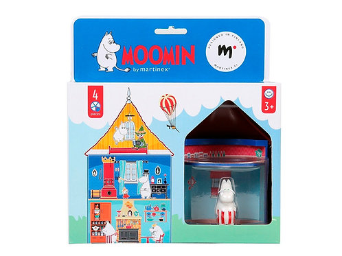 Mini Moomin`s House - Муми-Дом с комнатой Муми-мамы