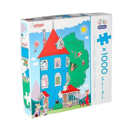 Moomin пазлы Муми-Дом 1000 деталей