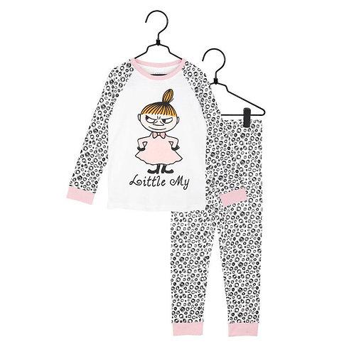 Moomin Пижама Swirl Малышка Мю, розовая