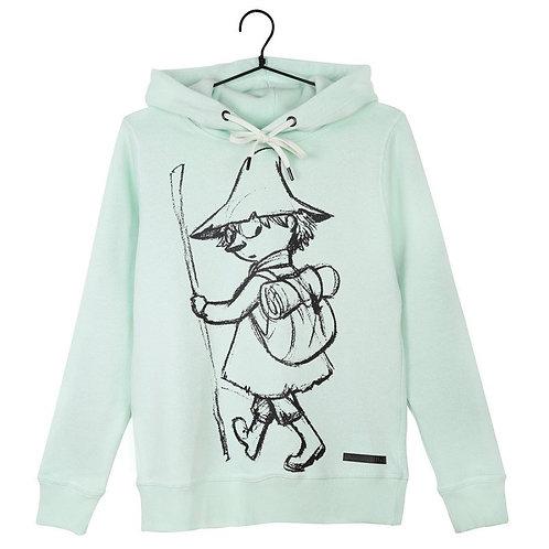 Moomin Худи Снусмумрик, мятно-зеленый