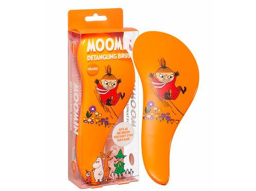 Расческа-щетка для волос Малышка Мю, оранжевая