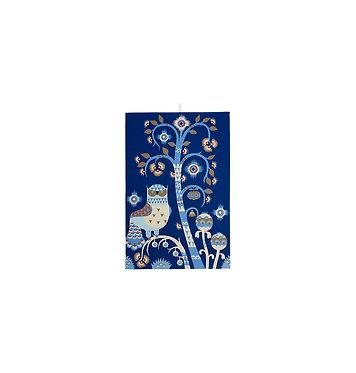 Кухонное полотенце 47x70 см синее