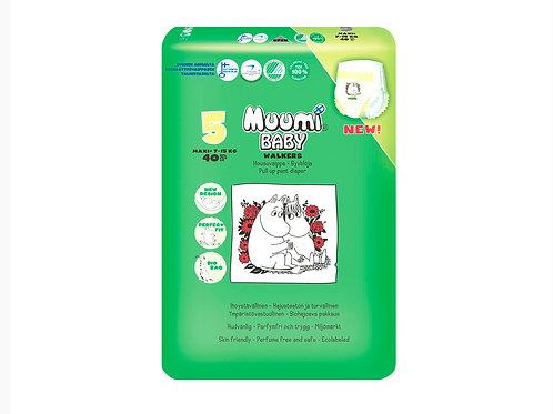 Muumi 5, Муми-Подгузники  Трусики Maxi+, 7-15 кг., 40 шт.