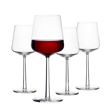 Бокалы для красного вина 45 мл 4 шт