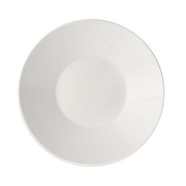 Тарелка 23см. Цвет: Белый