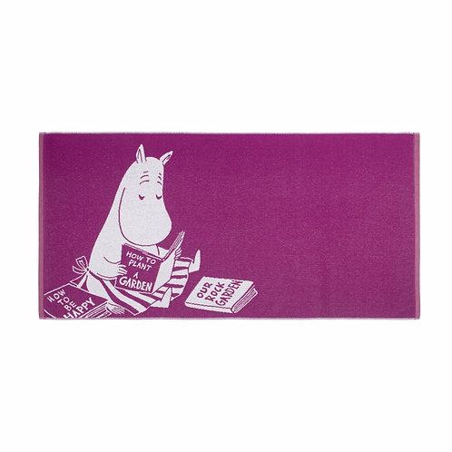 Moomin банное полотенце Mуми-мама ФУКСИЯ 70 x 140 см.