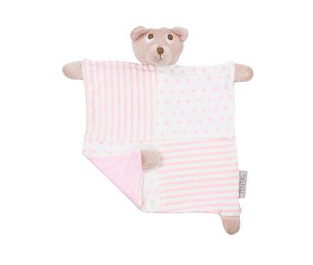 Игрушка для сна мишка розовый, коллекция Nallukka
