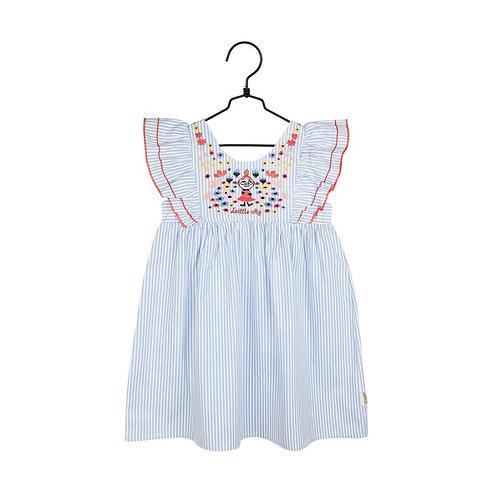 Moomin платье Малышка Мюголубое