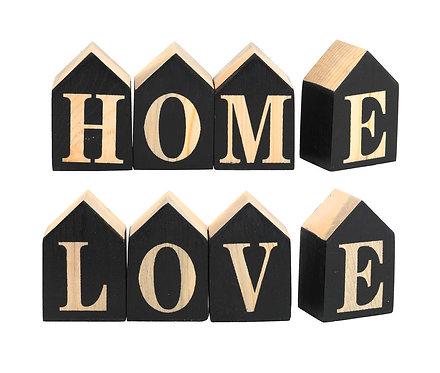Декоративные кубики HOME & LOVE 6cm 4 шт.