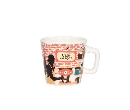Чашка для эспрессо Café 1902, 0,08 л. Цветная