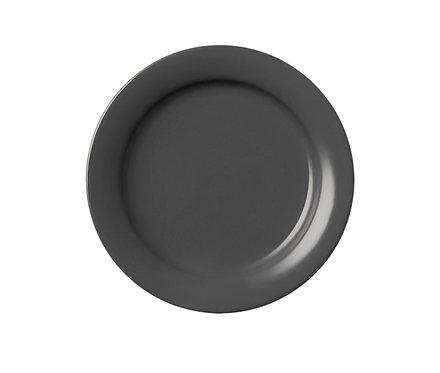 Тарелка гранитного цвета, 17 см.