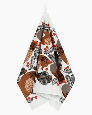 Кухонное полотенце Лиса и ягоды, 47х70 см