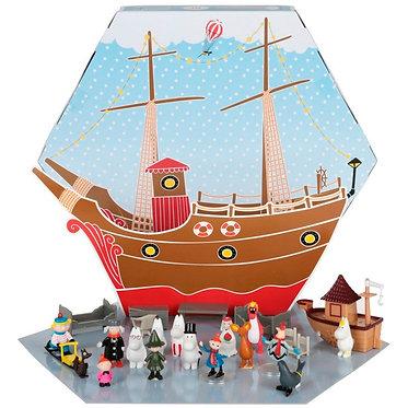 АДВЕНТ календарь с Муми-Троллями (24 фигурки).