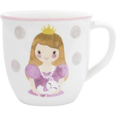 Кружка Принцесса, 0,2 л. розовая